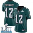 Eagles #12 Randall Cunningham Green SuperBowl Men's Limited Jersey