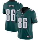 Eagles #86 Zach Ertz Green Men's Stitched Limited Jersey