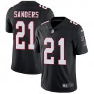 Falcons #21 Deion Sanders Black Men's Stitched Limited Jersey