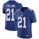 Giants #21 Landon Collins Royal Blue Men's Stitched Limited Jersey
