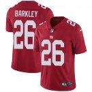 Giants #26 Saquon Barkley Red Men's Stitched Limited Jersey