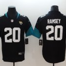 Jaguars #20 Jalen Ramsey Black New 2018 Limited Jersey