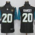Jaguars #20 Jalen Ramsey Black Limited Jersey