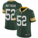 Packers #52 Clay Matthews Green Men's Stitched Limited Jersey