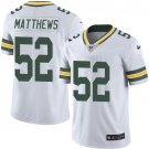 Packers #52 Clay Matthews White Men's Stitched Limited Jersey