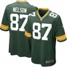 Jordy Nelson Packers Game Jersey - Green
