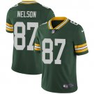Packers #87 Jordy Nelson Green Men's Stitched Limited Jersey