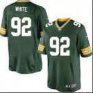 Packers #92 reggie white  Green Men's Stitched Game Jersey