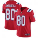 Patriots #80 Danny Amendola Red Men's Stitched Limited Jersey