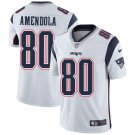 Patriots #80 Danny Amendola White Men's Stitched Limited Jersey