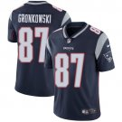 Patriots #87 Rob Gronkowski Navy Blue Men's Stitched Limited Jersey