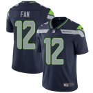 Seahawks #12 Fan Steel Blue Men's Stitched Limited Jersey