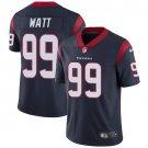 Texans #99 J.J. Watt Navy Blue Men's Stitched Limited Jersey