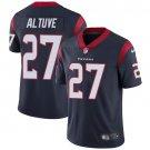 Texans #27 Jose Altuve Navy Blue Men's Stitched Limited Jersey