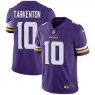 Vikings #10 Fran Tarkenton Purple Men's Stitched Limited Jersey