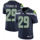 Seahawks #29 Earl Thomas III Steel Blue Men's Stitched Limited Jersey