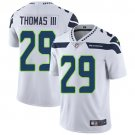 Seahawks #29 Earl Thomas III White Men's Stitched Limited Jersey