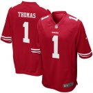 Men's Solomon Thomas 49ers Game Jersey - Scarlet