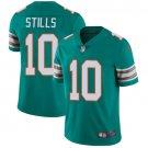 Dolphins #10 Kenny Stills Aqua Green Men's Stitched Limited Jersey