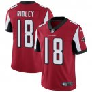 Falcons #18 Calvin Ridley Red Men's Stitched Limited Jersey