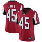 Falcons #45 Deion Jones Red Men's Stitched Limited Jersey