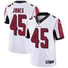 Falcons #45 Deion Jones White Men's Stitched Limited Jersey