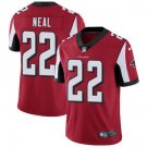 Falcons #22 Keanu Neal Red Men's Stitched Limited Jersey