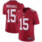 Giants #15 Brandon Marshall Red Men's Stitched Limited Jersey