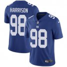 Giants #98 Damon Harrison Royal Blue Men's Stitched Limited Jersey