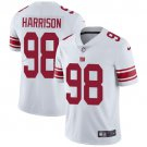 Giants #98 Damon Harrison White Men's Stitched Limited Jersey