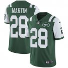 Jets #28 Curtis Martin Green Men's Stitched Limited Jersey