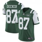 Jets #87 Eric Decker Green Men's Stitched Limited Jersey