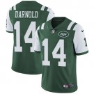 Jets #14 Sam Darnold Green Men's Stitched Limited Jersey