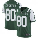 Jets #80 Wayne Chrebet Green Men's Stitched Limited Jersey
