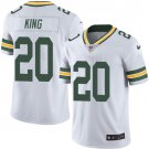 Packers #20 Kevin King White Men's Stitched Limited Jersey