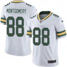 Packers #88 Ty Montgomery White Men's Stitched Limited Jersey
