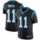 Panthers #11 Torrey Smith Black Men's Stitched Limited Jersey