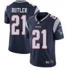 Patriots #21 Malcolm Butler Navy Blue Men's Stitched Limited Jersey