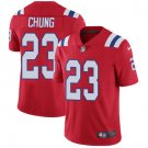Patriots #23 Patrick Chung Red Men's Stitched Limited Jersey