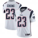 Patriots #23 Patrick Chung White Men's Stitched Limited Jersey