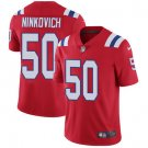 Patriots #50 Rob Ninkovich Red Men's Stitched Limited Jersey