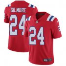 Patriots #24 Stephon Gilmore Red Men's Stitched Limited Jersey