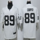 New Okaland Raiders #89 Amari Cooper White Men's Stitched Game Jersey