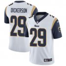 Rams #29 Eric Dickerson White Men's Stitched Limited Jersey