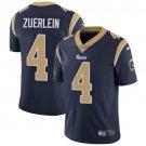 Rams #4 Greg Zuerlein Navy Blue Men's Stitched Limited Jersey