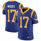 Rams #17 Robert Woods Royal Blue Men's Stitched Limited Jersey