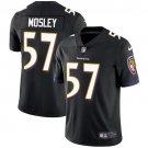 Ravens #57 C.J. Mosley Black Men's Stitched Limited Jersey