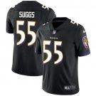 Ravens #55 Terrell Suggs Black Men's Stitched Limited Jersey