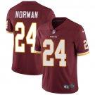 Redskins #24 Josh Norman Burgundy Red Men's Stitched Limited Jersey