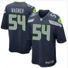 New Seahawks #54 Bobby Wagner Steel Blue Game Jersey